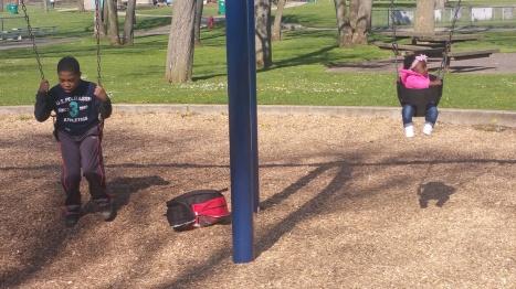 willie and mi swinging