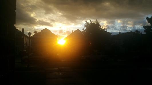 sun-up